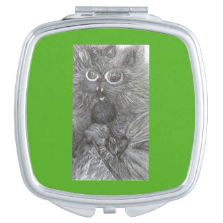 Singin Kitty art by cfw Mirrors For Makeup