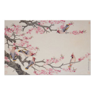 Singing Birds in Spring Poster