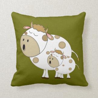 Singing Cows Throw Cushion