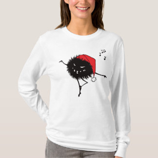 Singing Dancing Evil Christmas Bug Long Sleeve T-Shirt