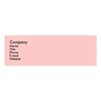 Singing Flamingos Pack Of Skinny Business Cards