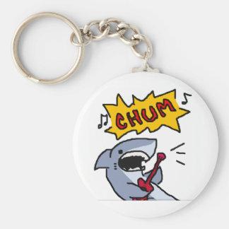 Singing for Chum Basic Round Button Key Ring