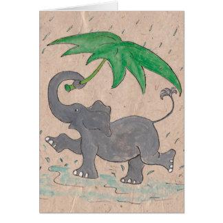 Singing in the Rain Card