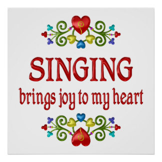 Singing Joy Posters