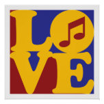 Singing Love Posters