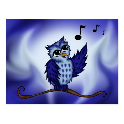 singing Owl Post Cards