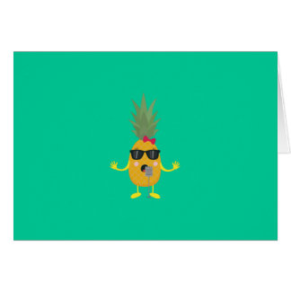 Singing Pineapple Card