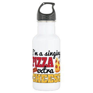 Singing Pizza w/ Extra Cheese 532 Ml Water Bottle