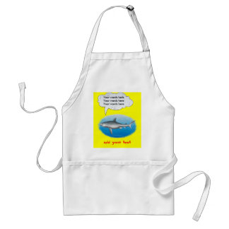 Singing Shark Standard Apron