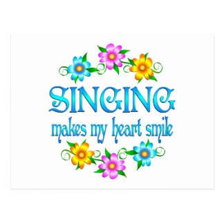 Singing Smiles Postcard
