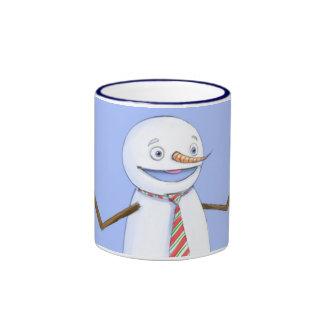 Singing Snowman Ringer Mug