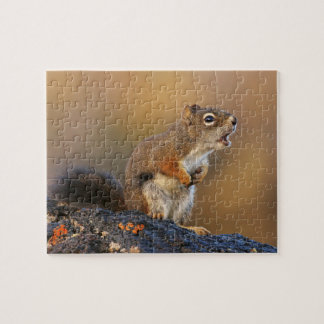Singing Squirrel Jigsaw Puzzle
