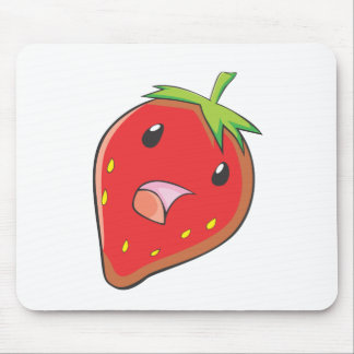 Singing Strawberry Mouse Pads