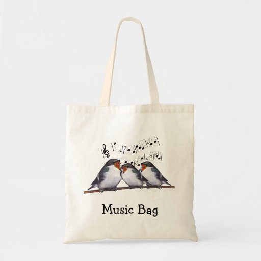 Singing Swallows: Birds: Music Bag, Choir
