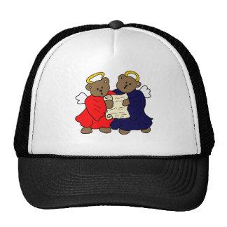 Singing Teddy Bear Angels Hats