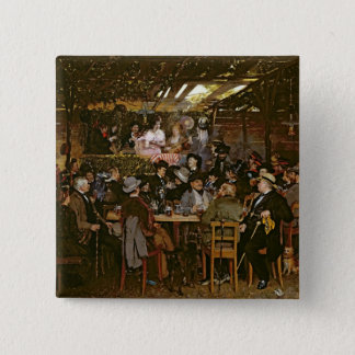 Singing to a Captive Crowd 15 Cm Square Badge