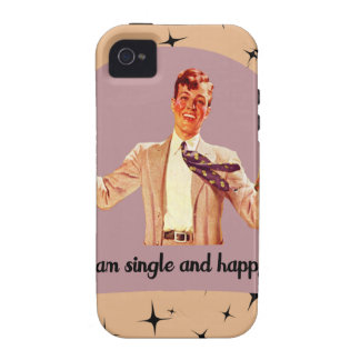 Single and Happy - Boys iPhone 4/4S Case