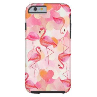 Single and Ready to Flamingle II Tough iPhone 6 Case