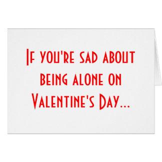 Single Awareness Day Greeting Card