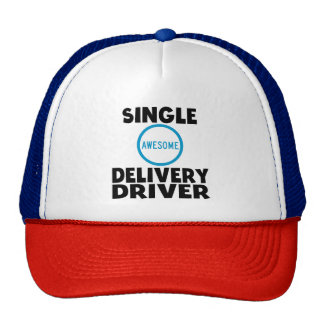 Single Awesome Delivery Driver Cap