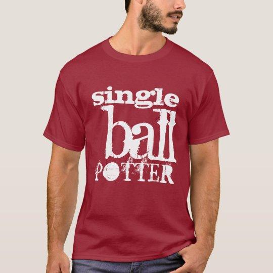 """Single Ball Potter"" Snooker t-shirt"