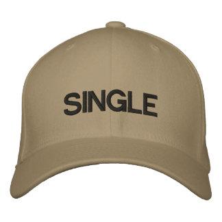 SINGLE BASEBALL CAP