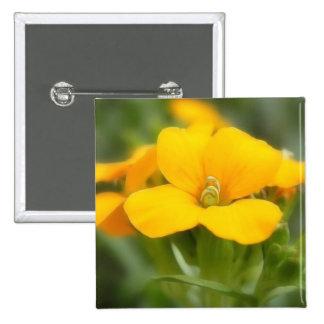 Single Bloom - Wallflower Button