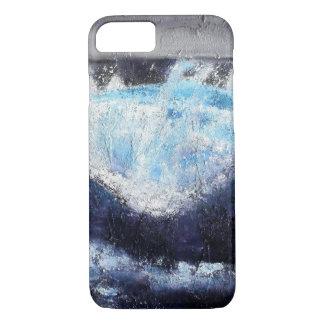 Single Blue Wave iPhone Case