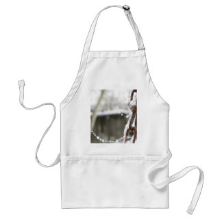 Single Chain and Pearls Aprons