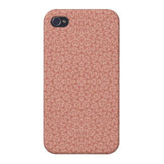 Single colored abstract pattern iPhone 4 covers