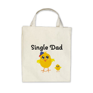 Single Dad Chick Tote Bag