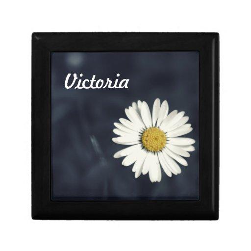 Single Daisy Flower Gift Box