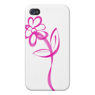 Single Daisy logo Cases For iPhone 4