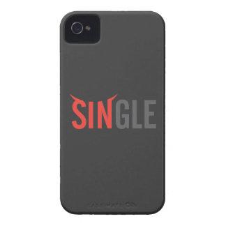 Single Dark 2 iPhone 4 Case-Mate Case