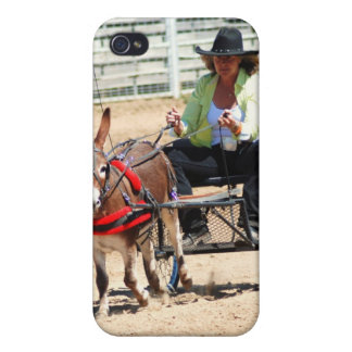 single donkey driving iPhone 4/4S cover