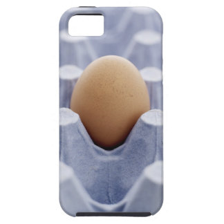Single egg in egg carton close up iPhone 5 covers