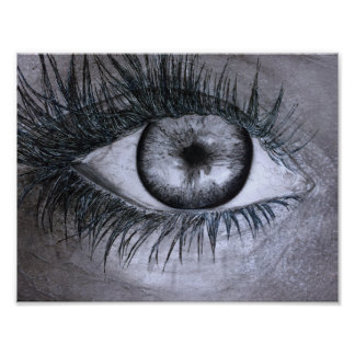 Single Eye Poster