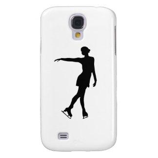 Single Figure Skater Black White Samsung Galaxy S4 Cover
