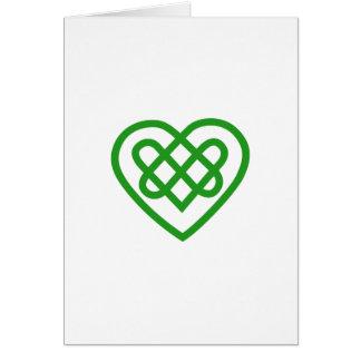 Single Heart Card
