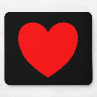 Single Heart Mouse Pad