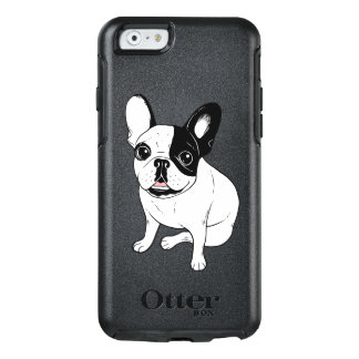 Single Hooded Brindle Pied Frenchie OtterBox iPhone 6/6s Case
