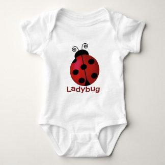Single Ladybug Baby Bodysuit