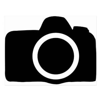 single lens reflex camera SLR icon Postcard