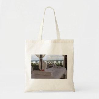 Single Massage Table Budget Tote Bag