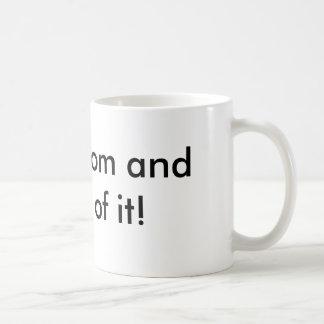 Single Mom Basic White Mug