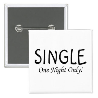 Single One Night Only Pin