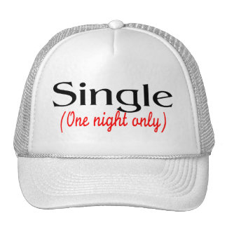 Single One Night Only Mesh Hat