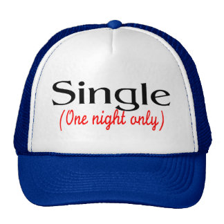 Single One Night Only Mesh Hats