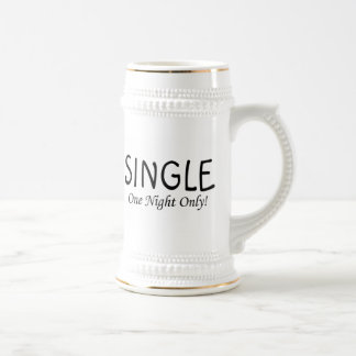 Single One Night Only Coffee Mugs