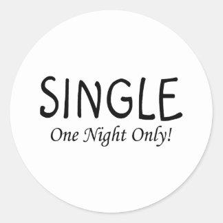 Single One Night Only Sticker